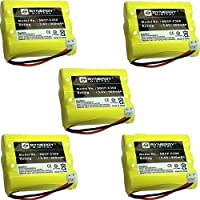 Synergy Digital Cordless Phone Batteries - Replacement for Phillips SJB4152 Cordless Phone Battery (Set of 5)