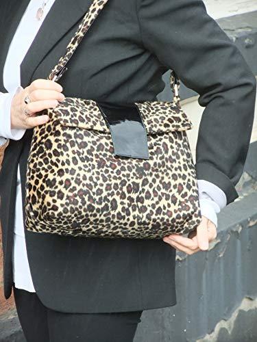 Bag Cheetah Shoulder Sassy Cross LONI body wYPSwq