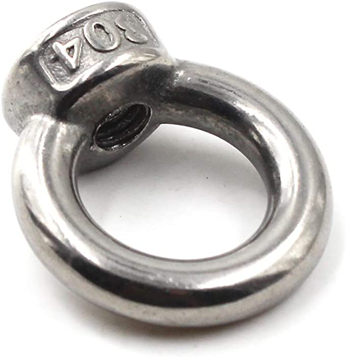 M5 /ösenmutter 304 edelstahl Ringmuttern Packung mit 20