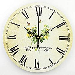 Living Room Decoration Wall Clock Mute Wall Clock Home Decor Large Wall Clock Modern Design Shabby Chic Orologio Parete style 6 16 inch