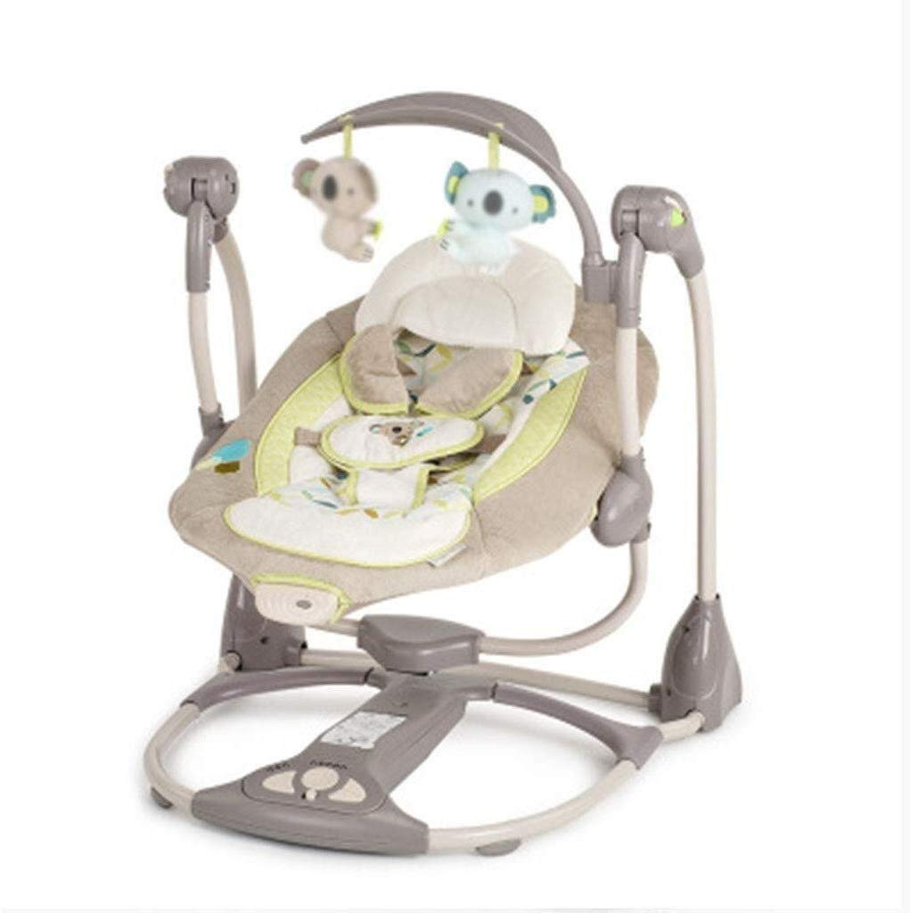 RENKUNDE Smart Baby Rocking Chair, Newborn Mother Gift, Multi-Function Music Rocking Chair, Load-Bearing 12KG Baby Rocking Chair by RENKUNDE