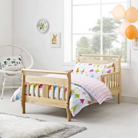Baby Relax Sleigh Toddler Bed (Natural)