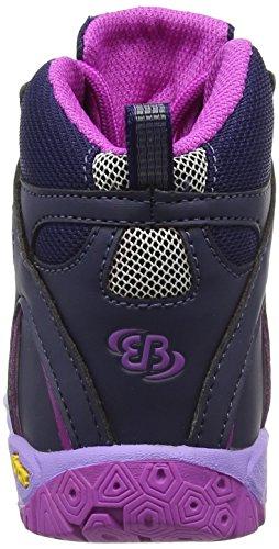 Bruetting Vision High Kids, Scarpe outdoor multisport bambine Blu Blau (lila) 28