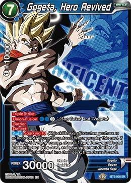 Gogeta Hero Revived SR Dragon Ball Super