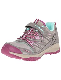 Merrell Girls Capra Bolt Low A/C WTRPF Hiking Shoe (Toddler/Little Kid/Big Kid)