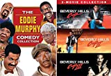 Eddie Murphy Collection Beverly Hills Cop part 1/2/3 Feature Comedy Triple Feature Bowfinger / Life & The Nutty Professor DVD 6 Movie Funny Man Set Bundle