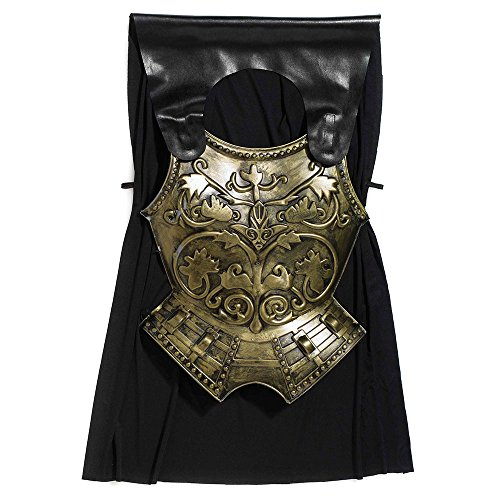 Bristol Novelty BA909 Roman Chest Plate with Cape,