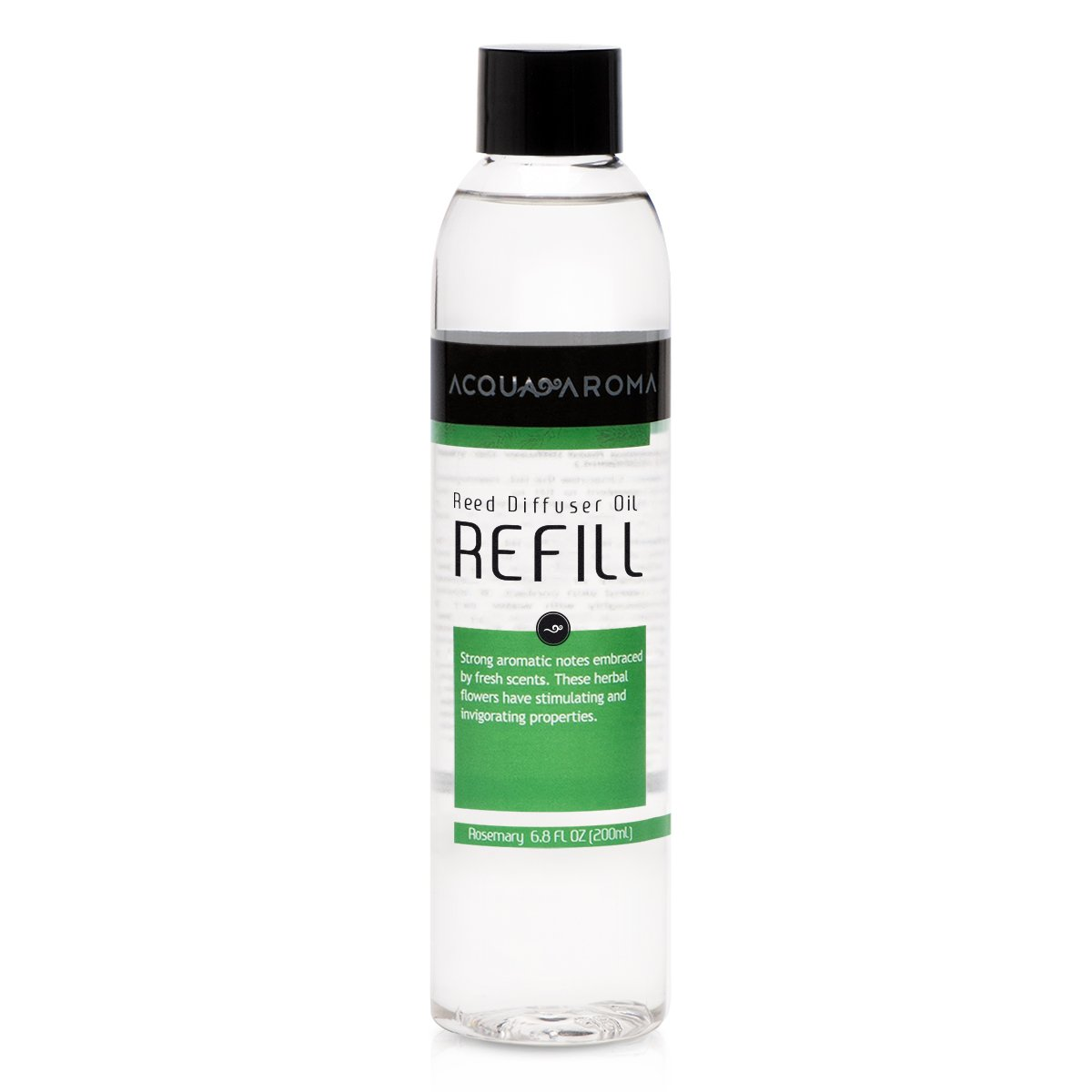 Acqua Aroma Rosemary Reed Diffuser Oil Refill 6.8 FL OZ (200ml) Contains Essencial Oils