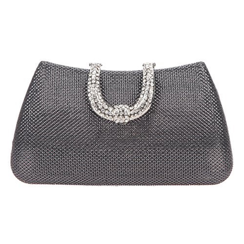 Gray Evening Bag - 9