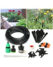 Pathonor Micro Drip Irrigation Kit Garden Irrigation System Adjustable Nozzle Automatic Watering Kits Outdoors Atomization Balcony Cooling Humidification Lawn Micro Flow Watering