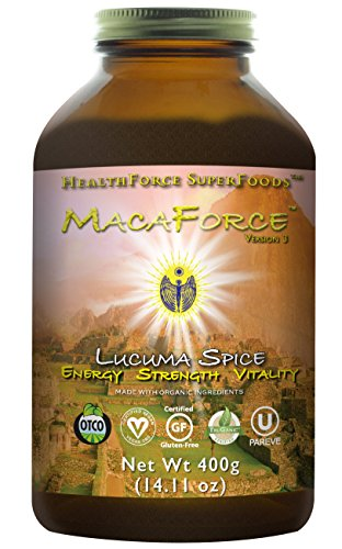 HealthForce SuperFoods Macaforce Lucuma Spice 400 Grams Powder