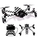 MightySkins Skin for Parrot Anafi Drone – Check   Protective, Durable, and Unique Vinyl Decal wrap Cover   Easy to Apply, Remove, and Change Styles   Made in The USA Review