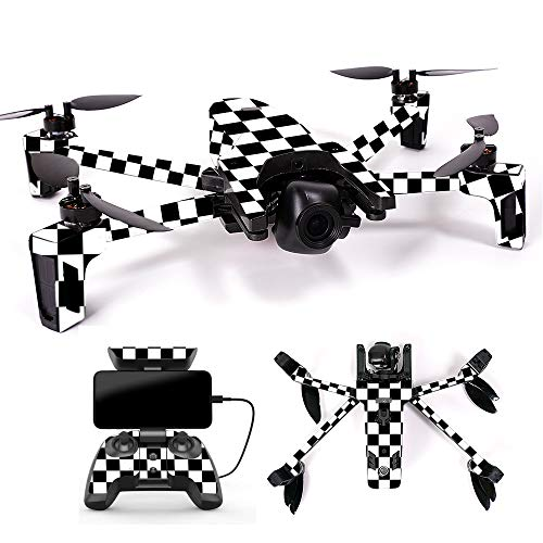 MightySkins Skin for Parrot Anafi Drone - Check | Protective, Durable, and Unique Vinyl Decal wrap Cover | Easy to Apply, Remove, and Change Styles | Made in The USA