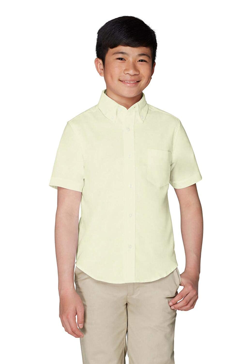 French Toast Boys School Uniforms Short Sleeve Oxford Shirt French Toast School Uniforms 1020R