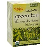 Uncle Lees Tea Organic Imperial Decaffeinated Green Tea - Royal Quality - 18 Bags (Pack of 2)