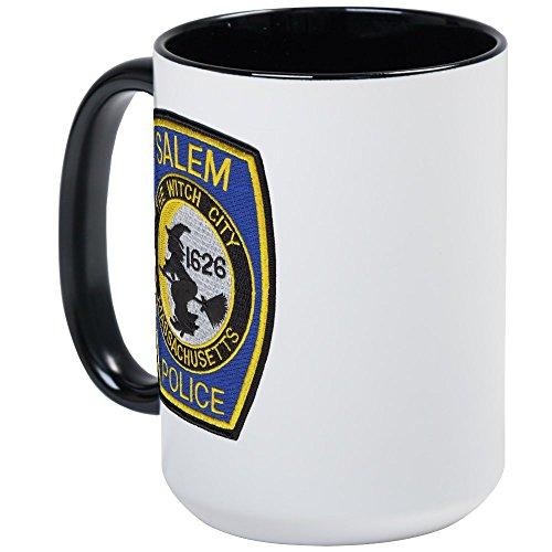 CafePress - Salem Police - Coffee Mug, Large 15 oz. White Coffee (Salem Mass Witch Trials Halloween)