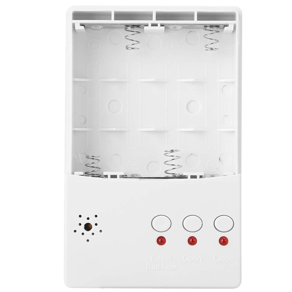 EU Detector Autom/ático Fugas Agua DN25 con Sistema Apagado Autom/ático,Sensor Agua Inteligente con Advertencia Alerta Alarma LED para Salidas Lavadora,Detecci/ón Fugas Agua,Detenci/ón Inundaciones