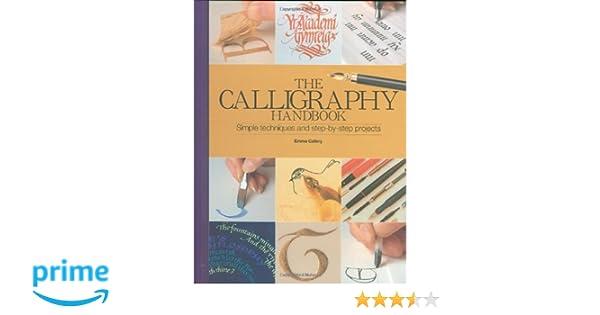 Calligraphy handbook artist s bibles emma callery