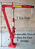 truck bed winch mount - 2000LB Swivel Lift Hoist Truck PickUp Crane Davit 1TON