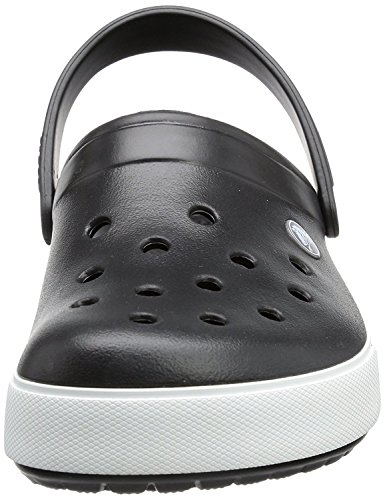 crocs Unisex-Erwachsene Crocband Ii.5 Clog Schwarz (Black/Charcoal 70)