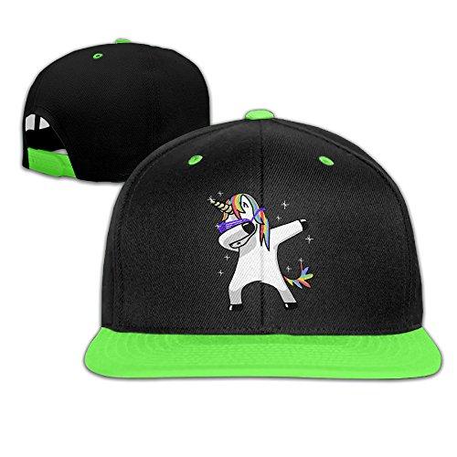 Kids Boy's & Girl's Unicorns Dabbing Outdoor Hip Hop Tour Cotton Sanpback Cap Hat - Sale For Cool Hats