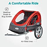Instep Bike Trailer for Kids, Single and Double