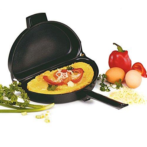 DecentGadget® Faltbare Meister Induction Sicher Non-Stick Antihaft Pfanne Bratpfanne Perfekt für Braten Kochgeschirr Omelettpfanne (Omelette Pan)