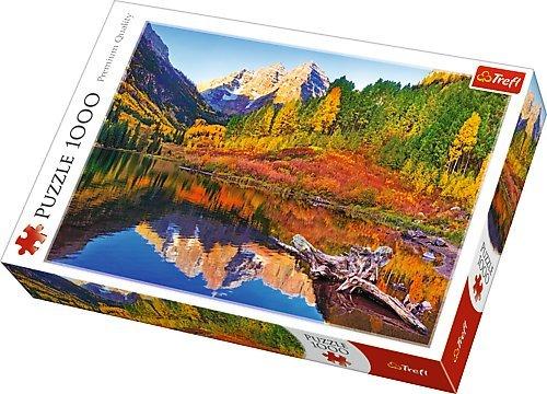 1000ピース ジグソーパズル Trefl アメリカ Trefl マルーン湖 アスペン マルーン湖 Maroon Lake, Aspen 1000ピース 48×68.3cm 10353 B00HZCR7Q6, E.S.P.:c52127a6 --- sharoshka.org