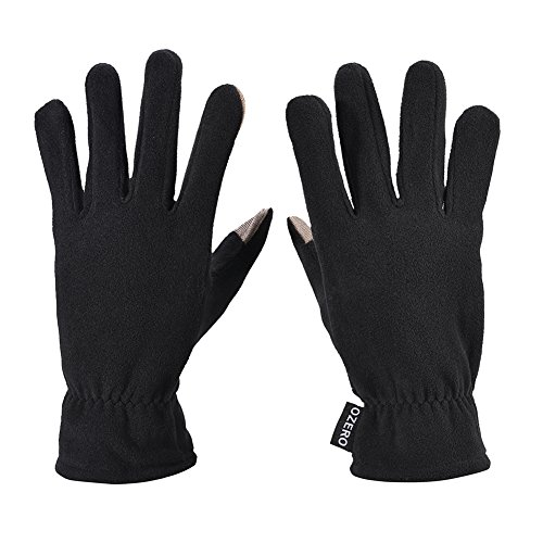 WM Polar Fleece warm touch screen gloves,Windproof & Water Resistant Gloves ,winter warm cold low temperature resistance men and women general--W0-7004