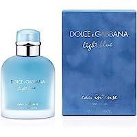 Dolce & Gabbana Eau de Parfum Spray for Men, Light Blue Intense, 100ml