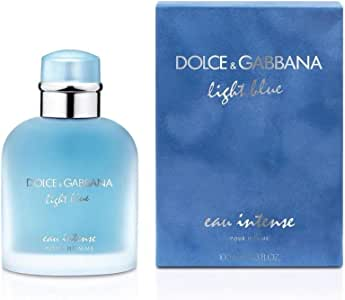 Dolce & Gabbana Eau de Parfum Spray for Men, Light Blue Intense, 100ml
