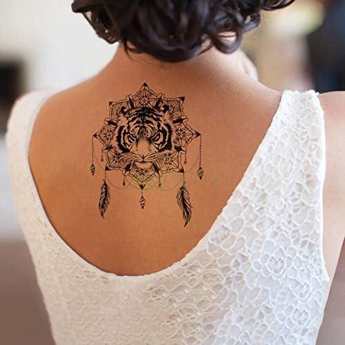 6pcs Tatuaje Impermeable Lobos Etiqueta Jon Lobo de la Nieve Vuelo ...