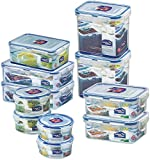 Lock & Lock Water Tight Food Containers, 22-Piece Set (3)