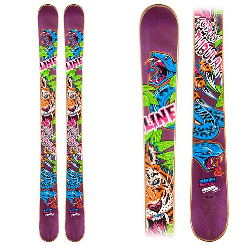 Line Afterbang Shorty Kids Skis