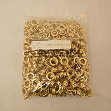CS Osborne Nickel Semi Professional Eyelet Kit Nickel Plated Solid Brass Eyelets