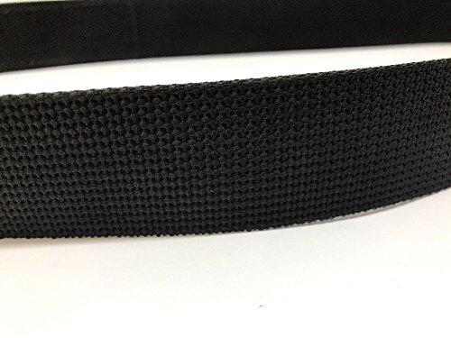 BlackHawk 44B7LGBK Men's Black Hook/Loop Inner Duty Belt Nylon - Large 38''-42'' by BlackHawk (Image #3)