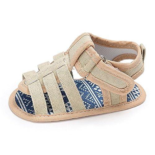 b1a8c00695ef8 Chaussures bébé Auxma Sandales bébé garçons Toddler Scrub First Walkers  Chaussures pour enfants ...