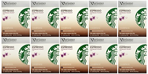 Starbucks Verismo Espresso Roast Espresso Pods - 12 ct(Pack of 12) by Starbucks