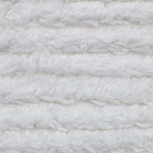 Richland Textiles AH-402 10 Ounce Chenille White Fabric by The Yard,