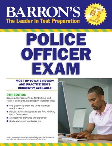 Police Officer Exam (Barron's Police Officer Exam)
