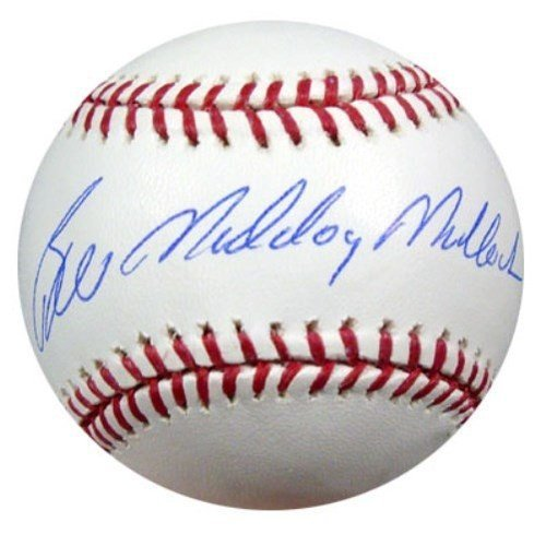 Bill Madlock Signed Rawlings Official Major League Baseball Pittsburgh Pirates Mad Dog - PSA/DNA Authentication - Autographed MLB Baseballs