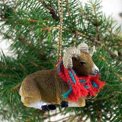 1 X Big Horn Sheep Ornament ()