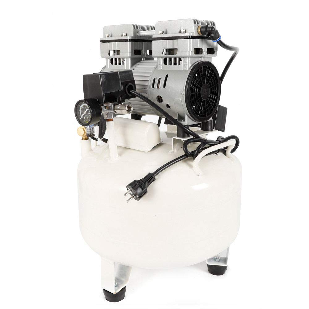 MOMOJA Compresor de aire silencioso silencioso sin aceite para Garage Clinic 35L 35DB 850W