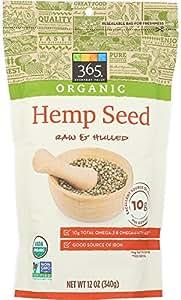 365 Everyday Value, Organic Hemp Seed, 12 oz