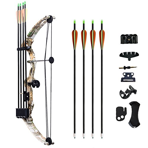 ATROPOS-110 Archery Youth Compound Bow Right Handed Bow K...