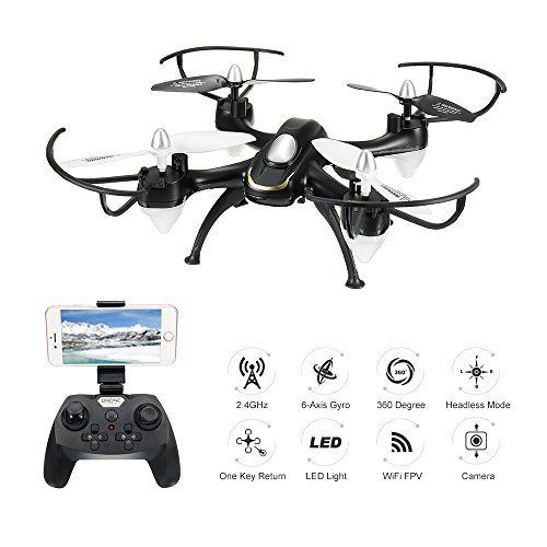 EACHINE E33W Wifi FPV Quadcopter With Camera Headless Mode RC Quadcopter Drone...