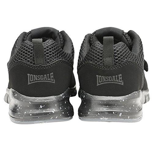 Lonsdale De Grey Blanc Running Chaussures Et Compétition Novas charcoal orange Homme Noir xBwxE6Fqr