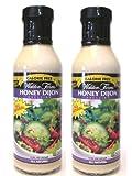 Walden Farms Calorie Free Dressing: Honey Dijon (Pack of 2) 12 oz Bottles