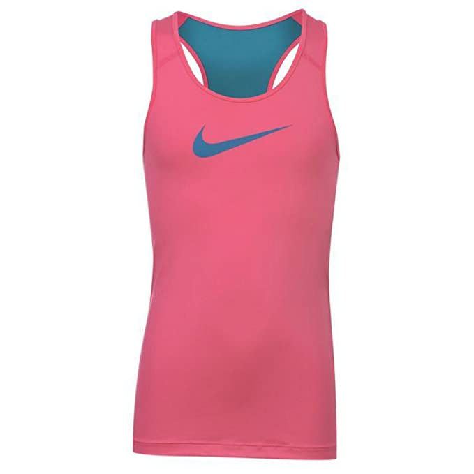 54e461465 Nike Pro Tank Top Junior Girls Kids Mesh Dri-Fit Tech Vest Top (6):  Amazon.ca: Clothing & Accessories