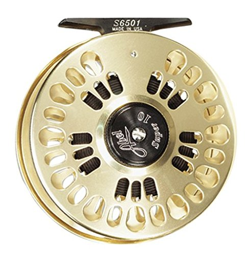 Fly Reels Abel - ABEL Super 11 Fly Reel Gold RH Retrieve